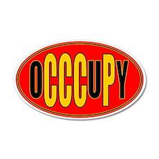 oCCCuPy 22x14 Oval Wall Peel
