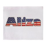 American Aliza Throw Blanket