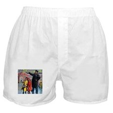 School Crossing Boxer Shorts
