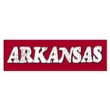 Arkansas Vintage Bumper Bumper Sticker