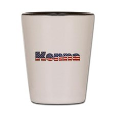 American Kenna Shot Glass