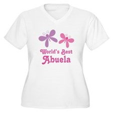 Best Abuela Butterfly T-Shirt