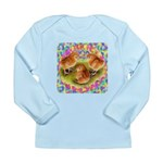 Party Time Chicks Long Sleeve Infant T-Shirt