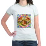 Party Time Chicks Jr. Ringer T-Shirt