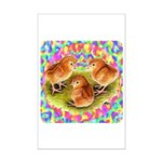 Party Time Chicks Mini Poster Print