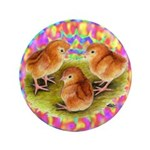 "Party Time Chicks 3.5"" Button"