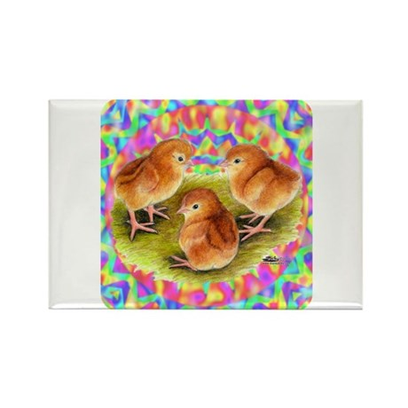 Party Time Chicks Rectangle Magnet (10 pack)
