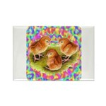 Party Time Chicks Rectangle Magnet
