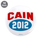 "Cain 2012 3.5"" Button (10 pack)"