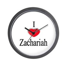 Zachariah Wall Clock