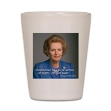Thatcher Hearts Quote Shot Glass