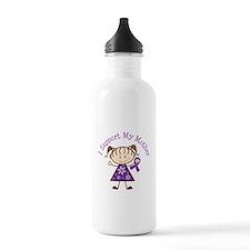 Alzheimers Support Mother Water Bottle