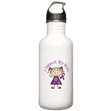 Alzheimers Support Mom Water Bottle