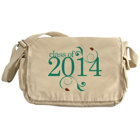 Class of 2014 Elegant Messenger Bag