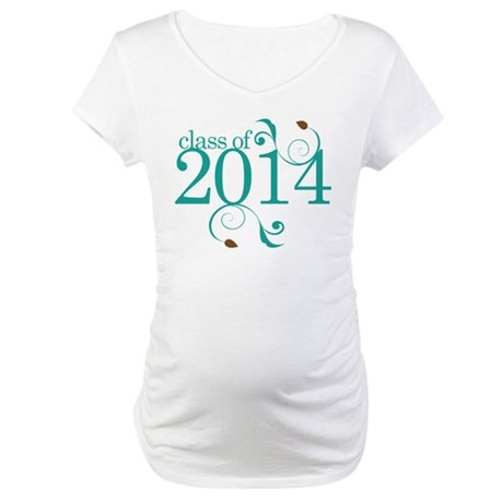 Class of 2014 Elegant Maternity T-Shirt