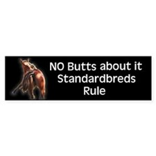 Standardbreds Rule Bumper Bumper Sticker