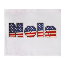 American Nola Throw Blanket