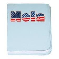 American Nola baby blanket