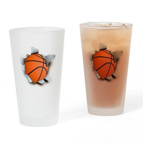 Basketball Burster Drinking Glass