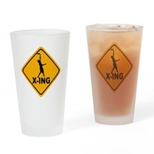 Ultimate X-ing Drinking Glass