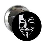 Fawkes Silhouette 2.25&quot; Button (10 pack)