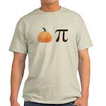 Pumpkin Pi Pie Light T-Shirt