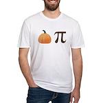 Pumpkin Pi Pie Fitted T-Shirt