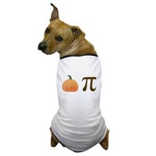 Pumpkin Pi Pie Dog T-Shirt