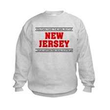 'Girl From New Jersey' Sweatshirt