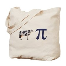 Cow Pie Pi Tote Bag