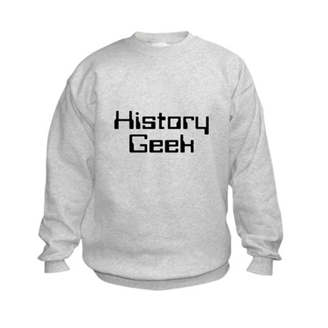 History Geek Kids Sweatshirt