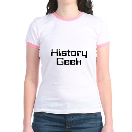 History Geek Jr. Ringer T-Shirt