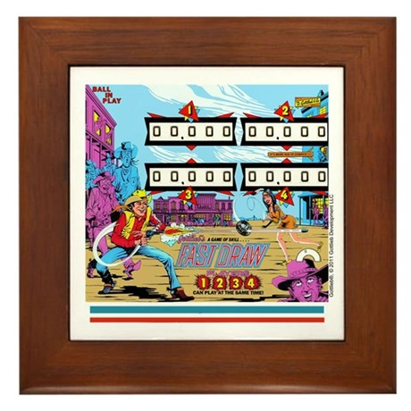 Gottlieb&reg; &quot;Fast Draw&quot; Framed Tile