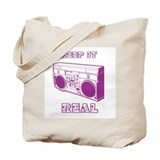 Tote Bag: Radical Radio Old School Hip Hop Design