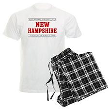 'Girl From New Hampshire' pajamas