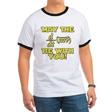 May The Force Be With You Physics Geek Nerd T