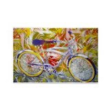 Graffiti Lowrider Rectangle Magnet (10 pack)