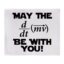 May The Force Be With You Physics Geek Nerd Stadi