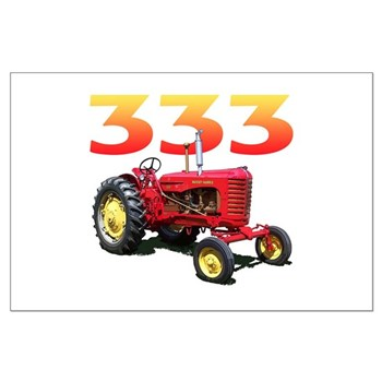 The 333 Large Poster