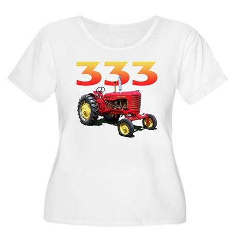 The 333 Women's Plus Size Scoop Neck T-Shirt