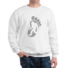 Yeti Footprint Sweatshirt