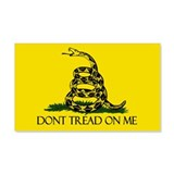 Dont Tread on Me 22x14 Wall Peel
