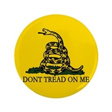 """Dont Tread on Me 3.5"""" Button (100 pack)"""