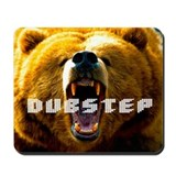 RAWR DUBSTEP DROPS - Mousepad