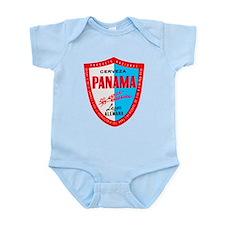Panama Beer Label 1 Infant Bodysuit