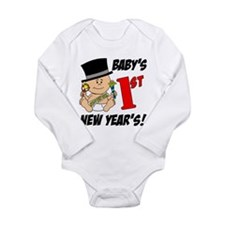 Baby's First New Year's Long Sleeve Infant Bodysui