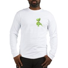 Puff The Magic Dragon - Green Long Sleeve T-Shirt