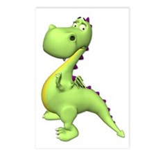 Puff The Magic Dragon - Green Postcards (Package o