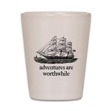 Adventures Shot Glass