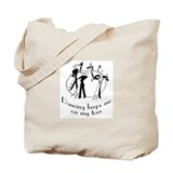 On My Toes Tote Bag